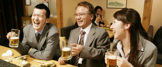 JAPAN BUSINESS DRINK