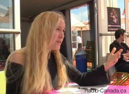 Une cinéaste québécoise en mission à Cannes (VIDÉO)