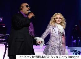 Madonna, Stevie Wonder's Prince Tribute Draws Standing Ovation