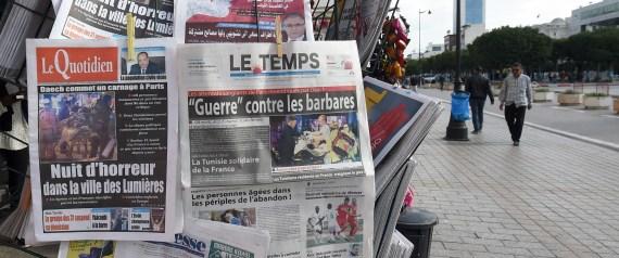 TUNISIAN NEWSPAPERS