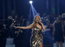 De nombreuses personnalités foulent le tapis rouge du spectacle de Céline Dion