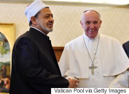 Le pape François rencontre un important leader musulman