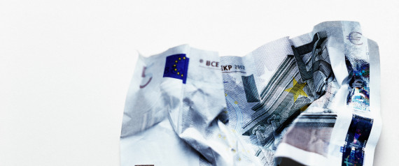 FIVE EUROS BANKNOTES