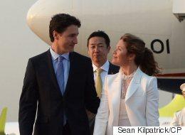 Sophie Gregoire Trudeau Reps 2 Canadian Designers During Japan Visit