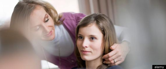 MOM DAUGHTER HAIR
