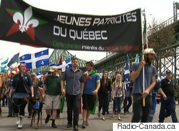 La marche des patriotes réunit des centaines de personnes à Montréal