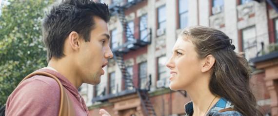 COUPLE ANGRY