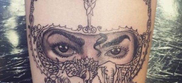 Le superbe tatouage de la fille de Michael Jackson