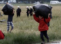 Migrants: la police entame l'évacuation du camp d'Idomeni (PHOTOS)