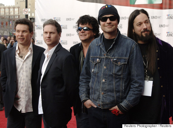 tragically hip junos