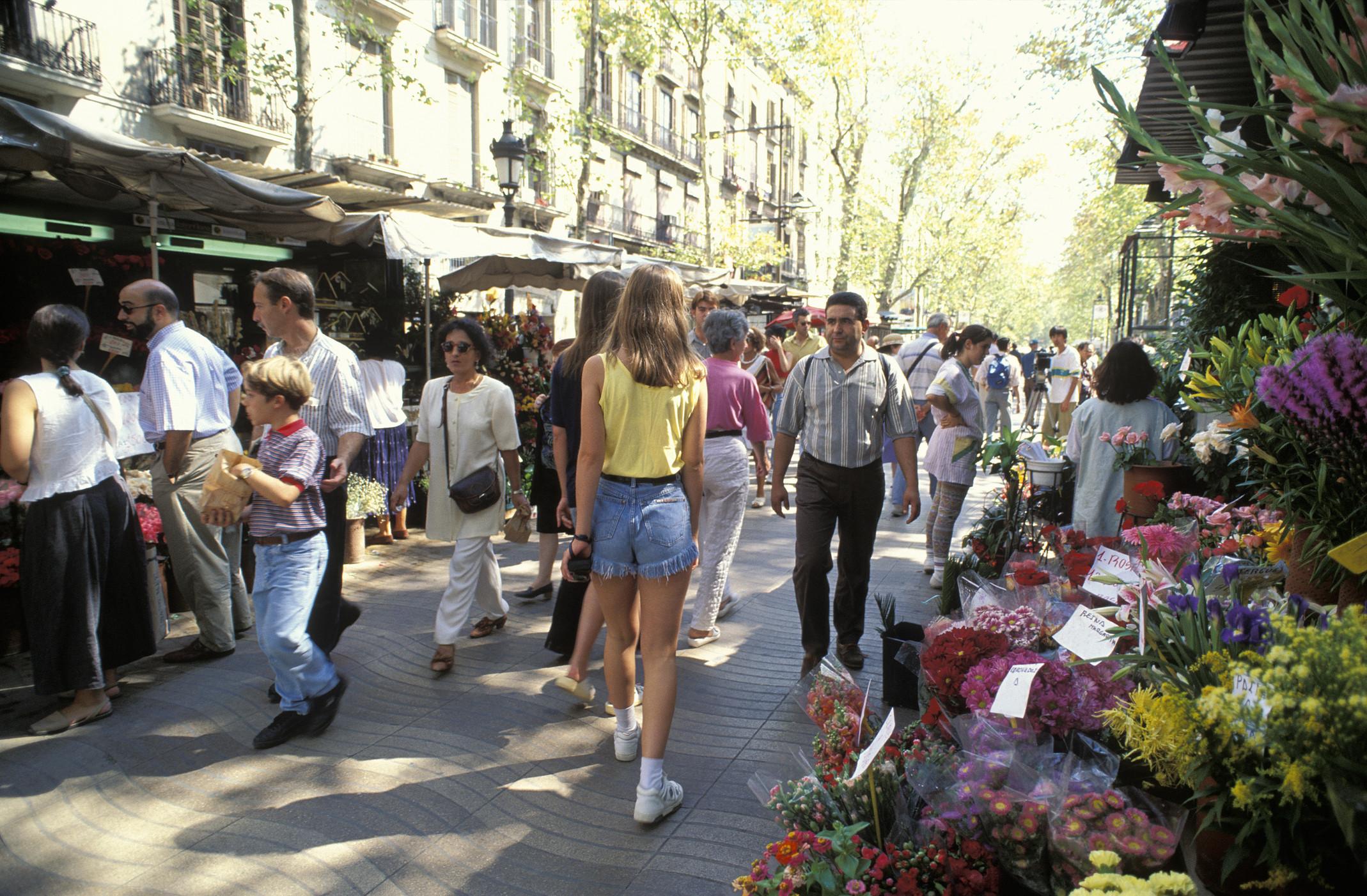 barcelona streets