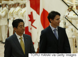 Trudeau Pitches Japanese Automakers On Canada