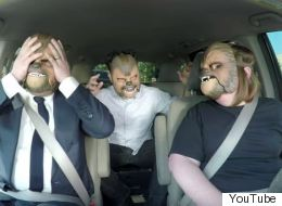 Chewbacca Mask Lady <i>Tries</i> To Give James Corden A Ride To Work