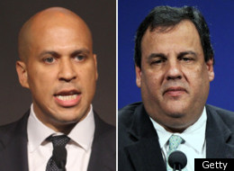 Cory Booker Chris Christie