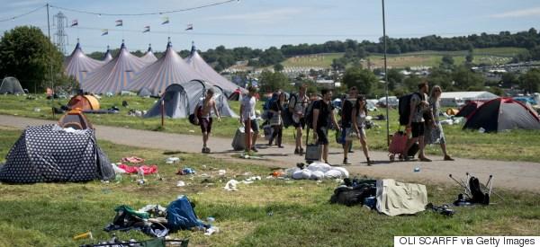 Le festival de Glastonbury condamné pour avoir pollué un cours d'eau