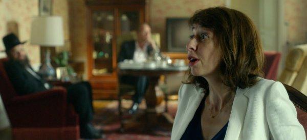 Quand une antisémite (Valérie Bonneton) apprend que son mari (Benoît Poelvoorde) est juif