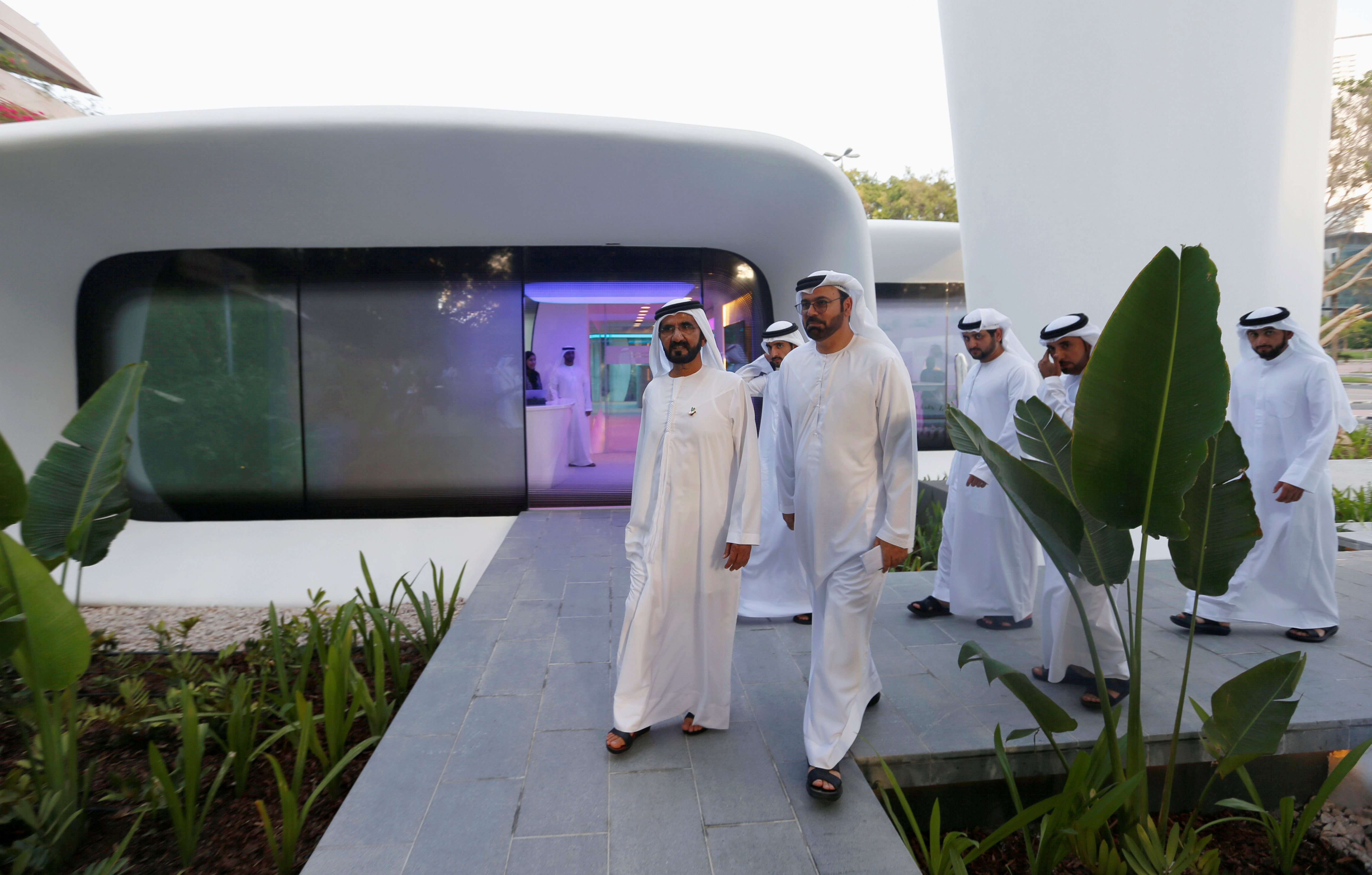 D Printing Exhibition Uae : Pictures world s first d printed building in dubai