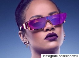 Rihanna And Dior Collab On 'Star Trek'-Inspired Sunglasses