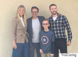 'Avengers' Stars Surprise Teen Battling Second Round Of Cancer