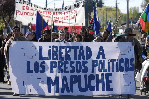 mapuche protesta