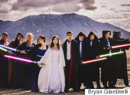 Mariage «Star Wars»: la Force est avec ces nouveaux mariés (PHOTOS)