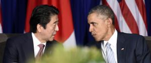Obama Abe Japan