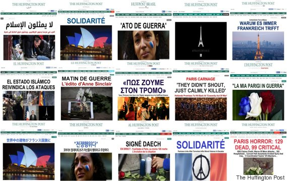 huffington post france splashes