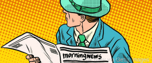 CARTOON NEWSPAPER