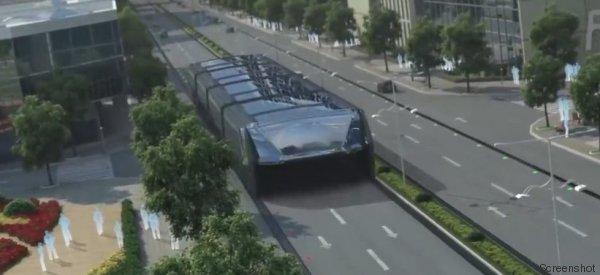 Das ist der wohl verrückteste Bus der Welt – und er löst ein gewaltiges Problem