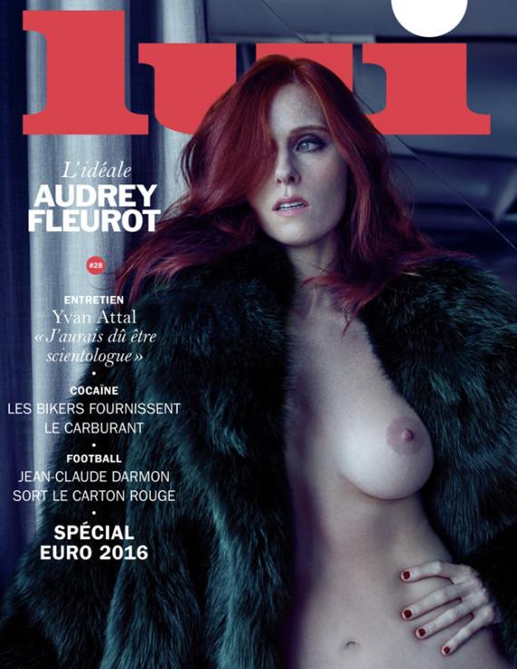 audrey fleurot seins topless sexy