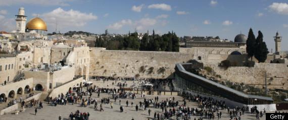 ISRAEL JERUSALEM RAMP