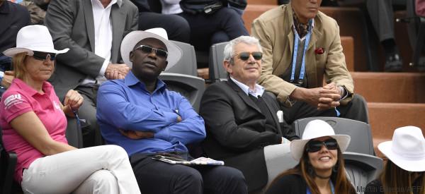 Les people montrent le bout de leur nez à Roland-Garros
