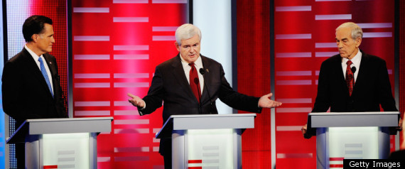 ROMNEY GINGRICH PAUL