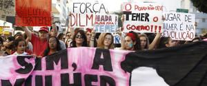 WOMEN BRAZIL PROTEST