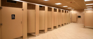 PUBLIC BATHROOM STALLS