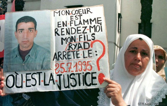 algeria mothers missing