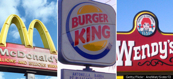 Compare wendy s mcdonalds burger king