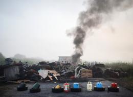 Le dépôt pétrolier de Donges débloqué par la police