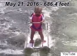 'World's Youngest Water Skier' Can't Even Walk Yet