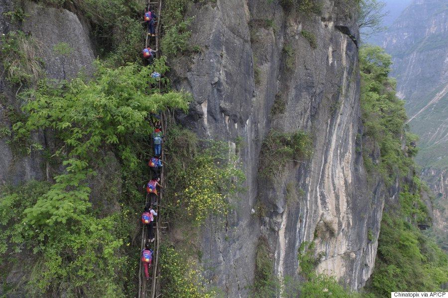china school ladder