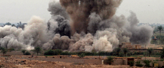 AIR STRIKE ON FALLUJAH