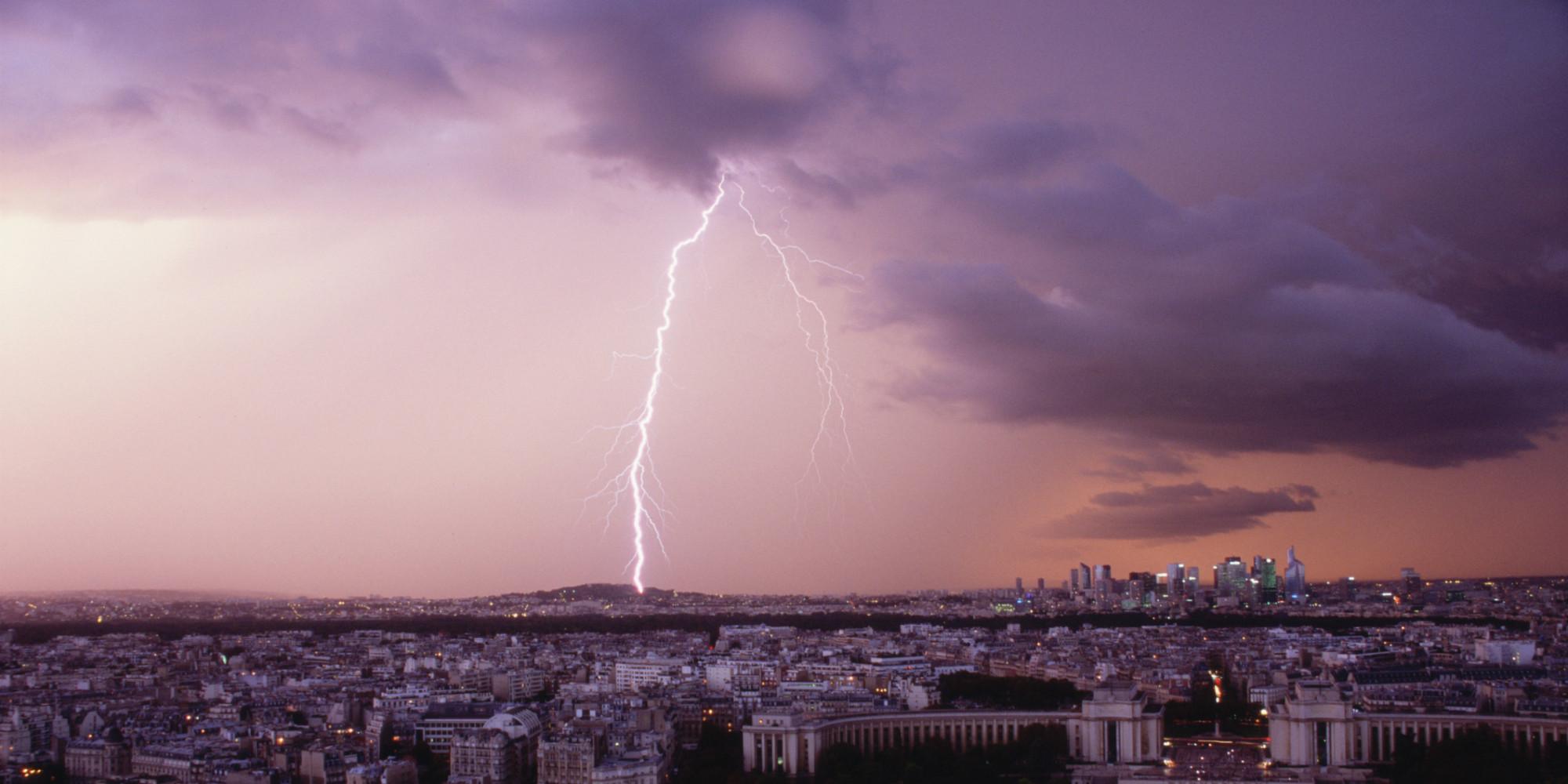 Plusieurs enfants bless s par la foudre au parc monceau paris - Symptomes coup de foudre ...