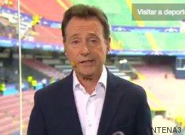 Matías Prats vuelve a triunfar en Twitter con este chiste sobre la final