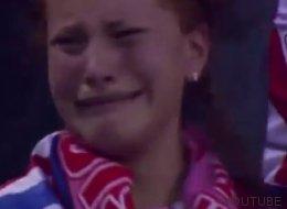 La aficionada del Atlético que peor se tomó el gol de Ramos (VÍDEO)