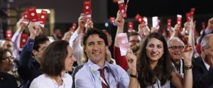 TRUDEAU LIBERAL CONVENTION 2016