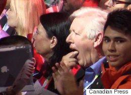 Trudeau Offers Rare Praise Of Harper, Bob Rae Gags