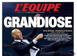 Las portadas del triunfo del Real Madrid en la final de Milán
