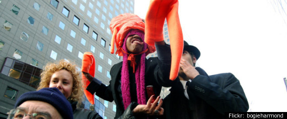 Occupy Wall Street Squid