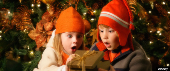 Children Prefer Family Time At Christmas
