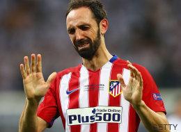 La emotiva carta de Juanfran a los atléticos tras su fallo en la tanda de penaltis
